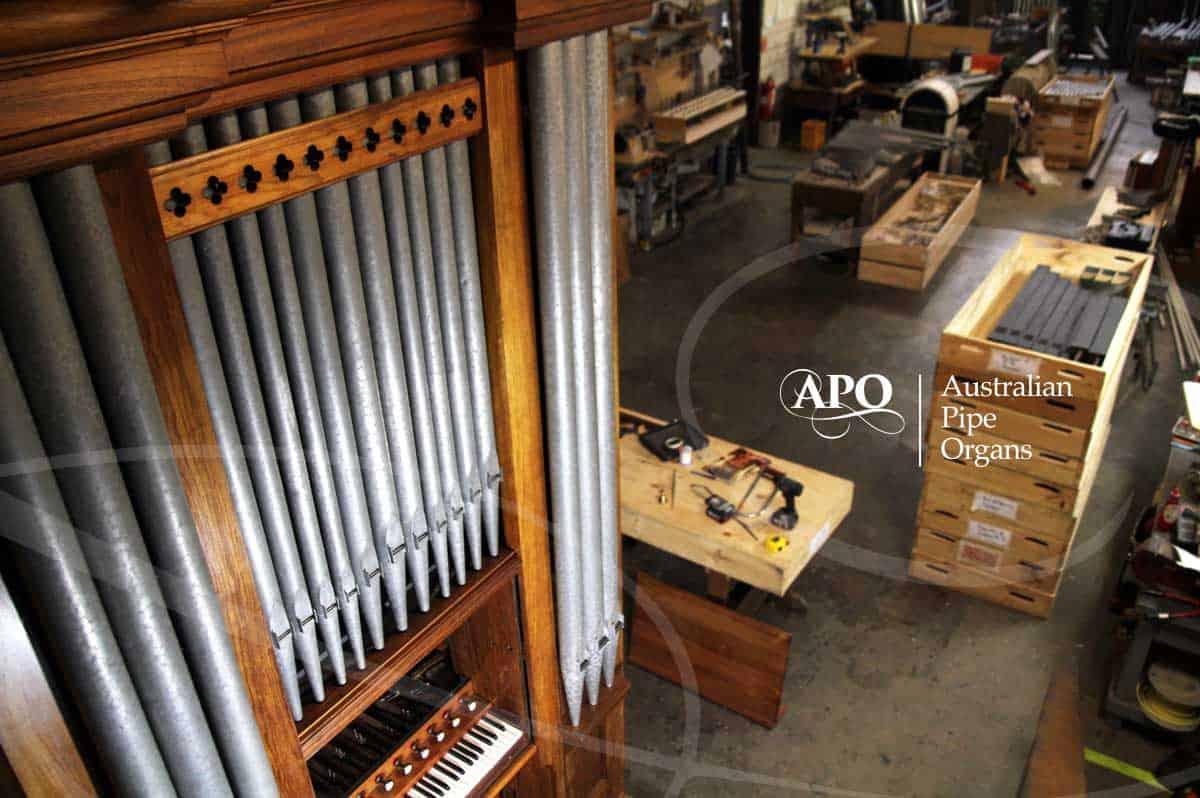 History of Australian Pipe Organs