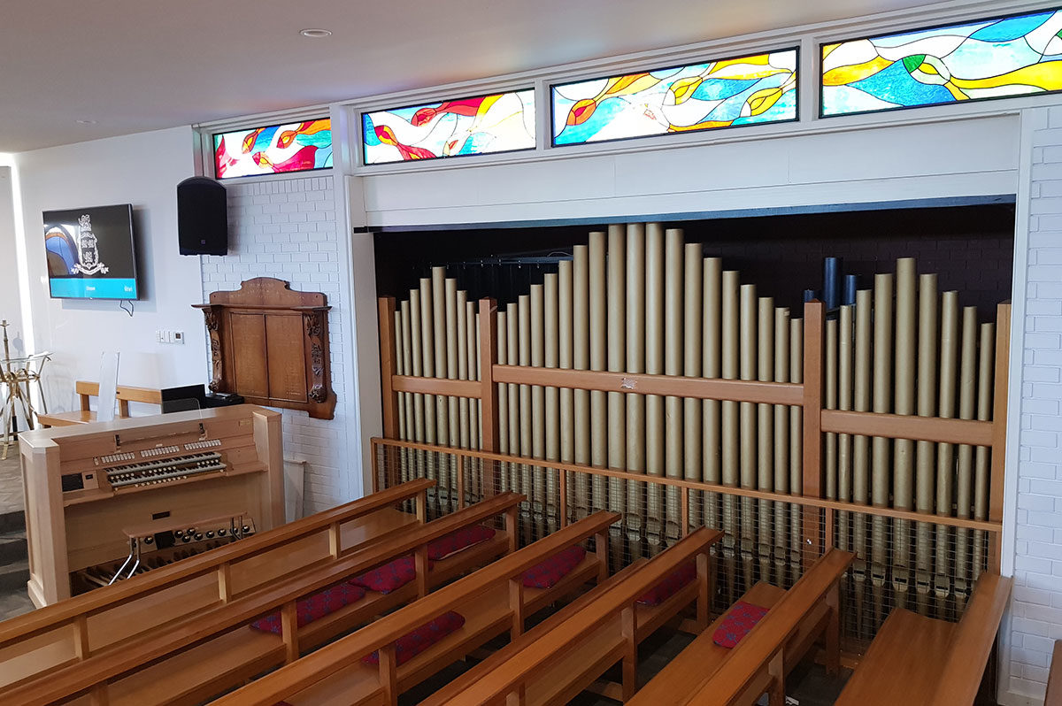 Hutchins school hobart 01 - Australian Pipe Organs