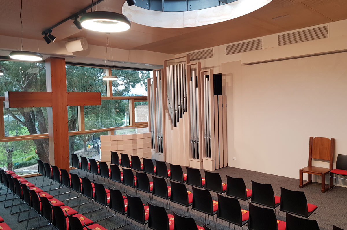 Yarra Valley Grammar School Chapel Pipe Organ
