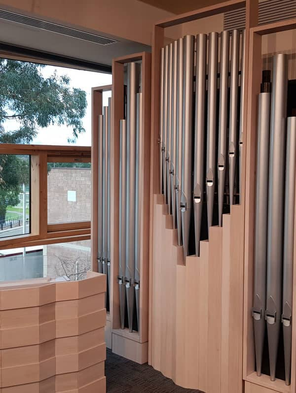 Yarra Valley Grammar School Chapel Pipe Organ and Console